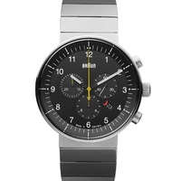 Buy Braun Gents Steel Bracelet Watch BN0095BKSLBTG online