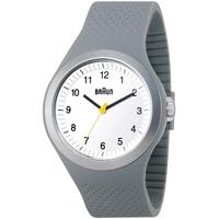 Buy Braun Gents Silicon Watch BN0111WHGYG online