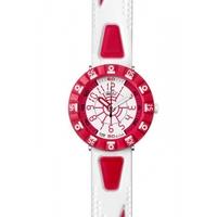 Buy Flik Flak Boys Shaped White & Red Watch FCS028 online