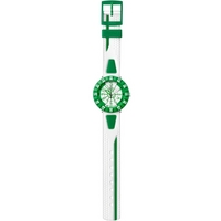 Buy Flik Flak Boys Shaped White & Green Watch FCS029 online
