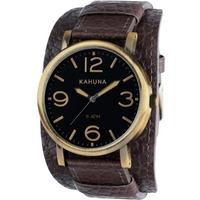 Buy Kahuna Gents Gents Cuff Strap Watch KUC-0054G online