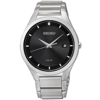 Buy Seiko Gents Solar Dress Watch SNE241P1 online