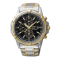 Buy Seiko Gents Solar Chronograph Watch SSC142P1 online