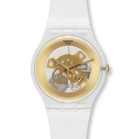 Buy Swatch Gents Gilt Ghost Watch SUOK106 online