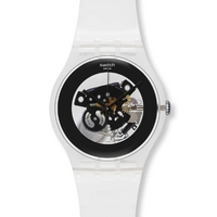 Buy Swatch Gents Black Ghost Watch SUOK107 online
