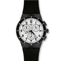 Buy Swatch Gents Twice Again Black Watch SUSB401 online