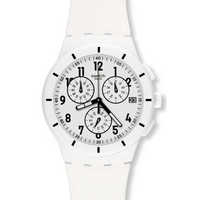 Buy Swatch Gents Twice Again White Watch SUSW402 online