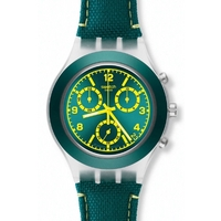 Buy Swatch Gents Irony Chrono Coleslaw Watch SVCK4070 online