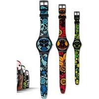 Buy Swatch 3 Ladies Kalinka-Malinka Watch SZS07 online