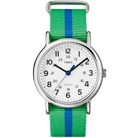 Buy Timex Gents Weekender Slip Thru Watch T2P143 online