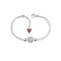 Buy Guess Ladies Sliding Into Love Bracelet UBB71268 online
