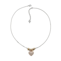 Buy Guess Ladies Sweetly Stacked Necklace UBN11316 online