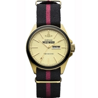Buy Vivienne Westwood Gents Vivienne Westwood Time Machine Watch VV068GDBK online