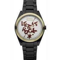 Buy Vivienne Westwood Ladies Aluminium Time Machine Watch VV072GDBK online