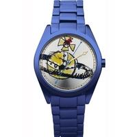 Buy Vivienne Westwood Ladies Aluminium Time Machine Watch VV072SLNV online