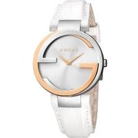 Buy Gucci Ladies Interlocking-G Rose Gold Watch YA133303 online