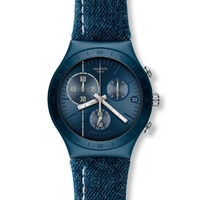 Buy Swatch Gents Irony Chrono Follow The Line Watch YCN4008 online