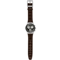 Buy Swatch Gents Irony Chrono Mocassin Watch YCS572 online