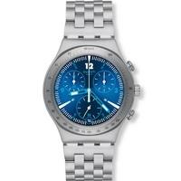 Buy Swatch Ladies Irony Chrono Rhythmic Blue Watch YCS575G online