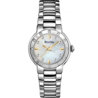 Buy Bulova Ladies Diamond Watch 96R173 online