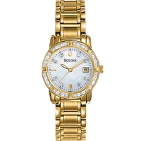 Buy Bulova Ladies Highbridge Diamond Watch 98R165 online