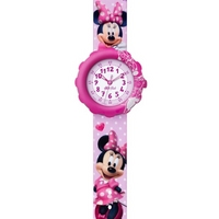 Buy Flik Flak Girls Pink Minnie Mouse Watch FLS032 online