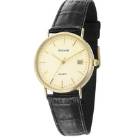 Buy Accurist Gents Gold Watch GD1414 online