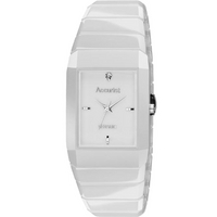 Buy Accurist Gents White Ceramic  Watch MB952W online