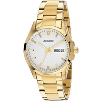 Buy Accurist Gents White Watch MB985W online