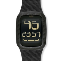 Buy Swatch Gents Carbon Fever Watch SURB110 online