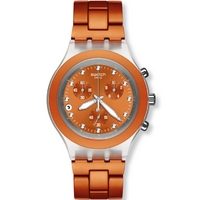 Buy Swatch Ladies Irony Chrono Full-Blooded Naranja Watch SVCK4051AG online