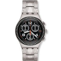 Buy Swatch Gents Irony Chronograph Offset Watch YCS576G online