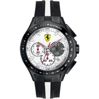 Buy Scuderia Ferrari Gents Textures Of Racing Chronograph Watch 0830024 online