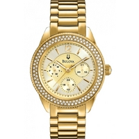 Buy Bulova Ladies Crystal Watch 97N102 online
