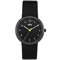 Buy Braun Ladies Steel Bracelet Watch BN0031BKBKMHL online