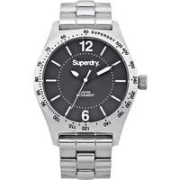 Buy Superdry Ladies Infantry Steel Watch SYL124BM online
