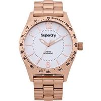 Buy Superdry Ladies Infantry Steel Watch SYL124RGM online