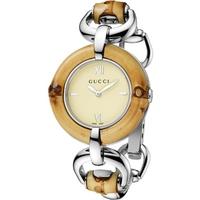 Buy Gucci Ladies Bamboo Watch YA132404 online