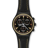 Buy Swatch Gents Irony Chrono Black Species Watch YCB4024 online