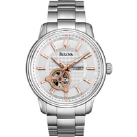Buy Bulova Gents Mechanical Watch 96A143 online