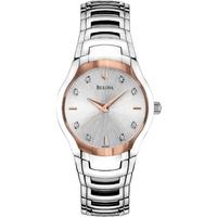 Buy Bulova Ladies Diamond Watch 96P145 online