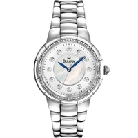 Buy Bulova Ladies Diamond Watch 96R174 online