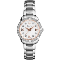 Buy Bulova Ladies Diamond Watch 96R176 online