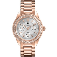Buy Bulova Ladies Crystal Watch 97N101 online
