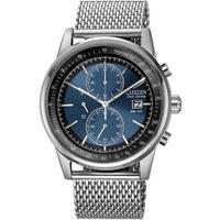 Buy Citizen Gents Mesh Sports Chronograph Watch CA0331-56L online