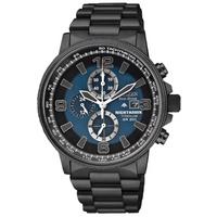 Buy Citizen Gents Titanium Nighthawk Chronograph Watch CA0505-57L online