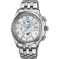 Buy Citizen Ladies Ladies World Time A T Chronograph Watch FC0000-59D online