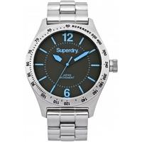 Buy Superdry Gents Battalion Steel Watch SYG107UM online
