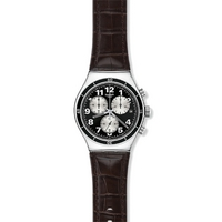 Buy Swatch Gents Irony Browned Watch YVS400 online