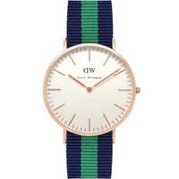 Buy Daniel Wellington Gents Classic Warwick Watch 0105DW online